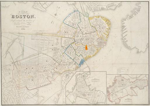 Downtown Boston Map Pdf.Historical Maps Norman B Leventhal Park