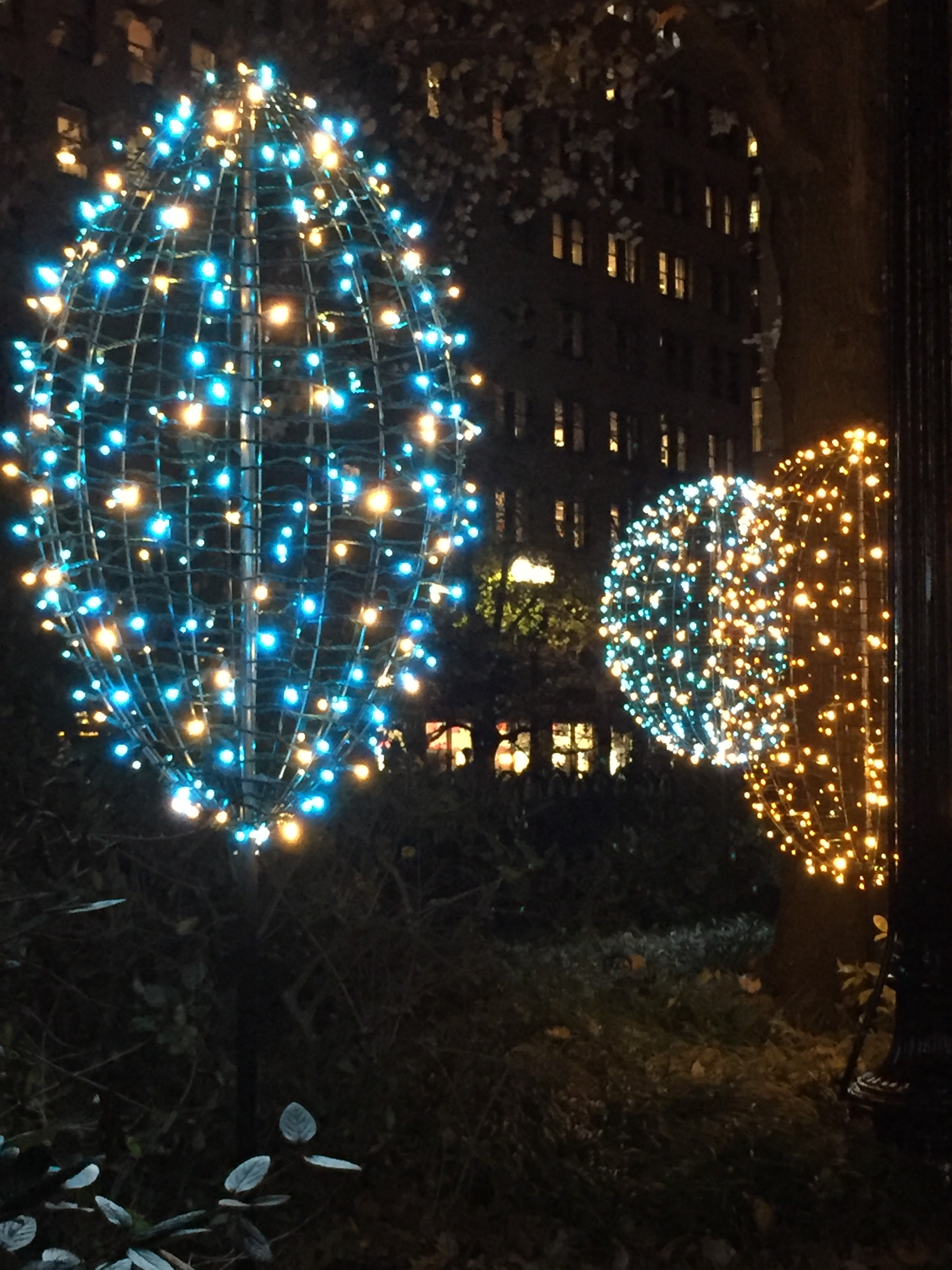 Come See Our New Winter Lights Norman B Leventhal Park